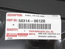 Toyota Lexus 58314-06120 Side Panel Floor Extension Rear Left Genuine OEM New(Fits: Lexus)