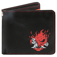 Cyberpunk 2077 Night Samurai Limited Collectors Edition Bifold Wallet With Logo