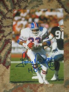 Denver Broncos TONY DORSETT Signed 4x6 Photo NFL HOF AUTOGRAPH