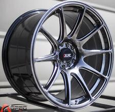 18x8.75/9.75 XXR 527 5x100/114.3 +20 Chromium Black Wheel Fits Ford Mustang 370Z