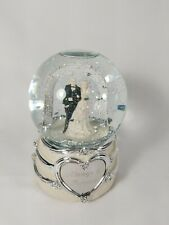"""Things Remembered """"Alway & Forever"""" Musical Water Snow Globe Snow Dome ~"""