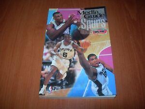 SAN ANTONIO SPURS 98/99 NBA MEDIA GUIDE