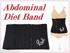 Abdominal Diet Band Waist Tuck Belt Dress Nylon Shapewear Slimming Tummy Binder