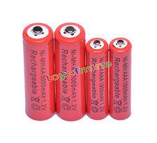 2 Aa + 2 Aaa 3000 Mah 1800mah 2a, 3a 1.2 v Ni-mh Recargable Batería Celular