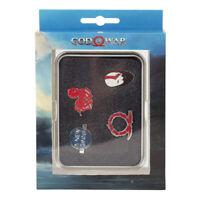 God Of War Norse Wrath Pin Button Set