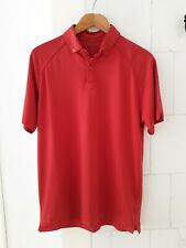 IJP Design Mens Golf red polo shirt S Small Ian Poulter made in Great Britain