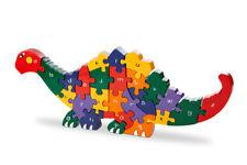 Alphabet Dinosaur Wooden Jigsaw Puzzle
