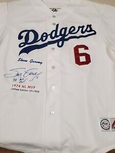 Steve Garvey Signed Autographed #6 1974 NL MVP Dodgers Jersey PSA/DNA COA Ltd Ed