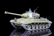 US Stock HengLong 1/16 Upgrade Metal Ver USA M26 Pershing RTR RC Tank 3838