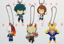 Bandai My Hero Academia figure keychain gashapon (full set of 5 figures)