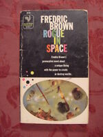 RARE ROGUE in SPACE by FREDRIC BROWN 1st BANTAM PRINTING
