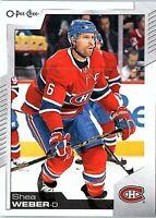 2020-21 O-PEE-CHEE NHL Trading Card SHEA WEBER #214