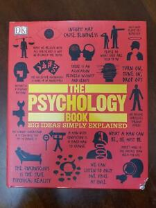 The Psychology Book: Big Ideas Simply Explained Hardcover DK Benson Ginsburg