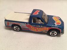 Hot Wheels 1996 Race Team Series Iii Chevy 1500 #2/4 Blue 1:64 Diecast Mint
