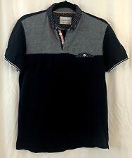 Paper Denim & Cloth Men's Collared Short Sleeve Polo Shirt 100% Cotton