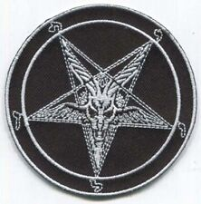 BAPHOMET PENTAGRAM PATCH - Free Shipping!
