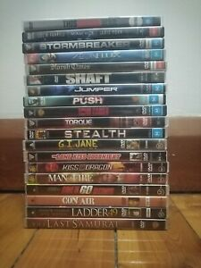 Action DVDs - Used - Good condition - Reigion 4 - $5 each *FREE POSTAGE*