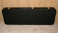 Standard Electric Guitar Case  Black/Black fits most Strats & Tele Shape Guitars