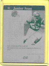1/1 JUNIOR SEAU San Diego Chargers 1996 SCORE BOARD Printing Press Plate 1 of 1