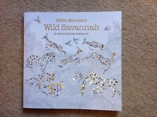 Millie Marotta's Wild Savannah: A Colouring Book Adventure by Millie Marotta...