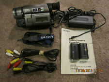 Sony CCD-TRV46 Hi8, Video8 8mm Camcorder/TAPE PLAYER WATCH, TRANSFER, RECORD