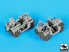 Black Dog 1/72 Israeli IDF M151 MUTT Jeep Accessories Set (for S-Model) T72094
