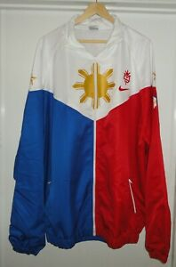 Nike Team Manny Pacquiao PacMan Boxing Warm Up Windbreaker Jacket Adult XXXL