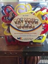 "Alphabet Cookie Cutter Set 30 Pc. Set ""Eat Your Words"""