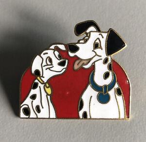 Disney - 101 Dalmatians Pongo And Puppy Pin - Vintage 1990's
