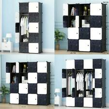 Portable wardrobe for Hanging Clothes, Combination Armoire, Modular Cabin