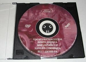 2007-2008 Lincoln MKX LATEST Navigation DVD Map Update 13P GPS .