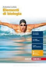 elementi di biologia, Zanichelli scuola, Antonio Letizia, cod:9788808754196
