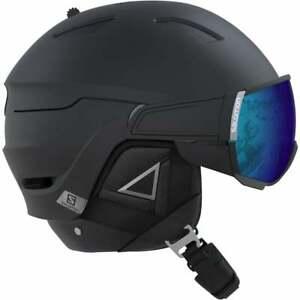 Salomon Driver+ Helmet - Black/Silver