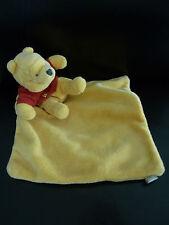 T5- DOUDOU  PLAT WINNIE DISNEY BABY NICOTOY ORANGE  ROUGE abeille - TTBE !