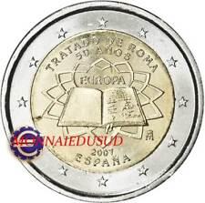 2 Euro Commémorative Espagne 2007 - Traité de Rome