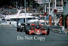 Carlos Reutemann Martini Brabham BT45 Monaco Grand Prix 1976 Photograph 4