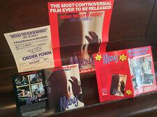 HAIL MARY Australian Video Classics DEALER KIT shop poster pamphlet slick VHS