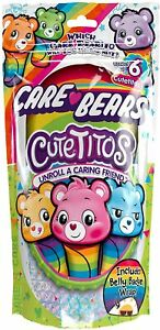 """Cutetitos Care Bears Edition 7"""" Plush Care Bear Furry Friend 6 to Collect NEW"""