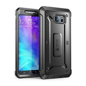 Fits Galaxy Note 5 Supcase UBPRO Case Full Body Rugged Holster Screen Protector