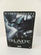 Blade Trilogy DVD Set RARE STEELCASE, Marvel, Wesley Snipes, Ryan Reynolds