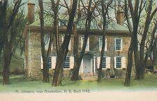 AMSTERDAM NY – Fort Johnson near Amsterdam Ft. Johnson – Built 1742 - udb