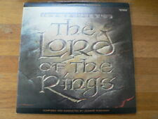 LP RECORD VINYL THE LORD OF THE RINGS MOTION PICTURE SOUNTRACK 2 LP SET TOLKIEN
