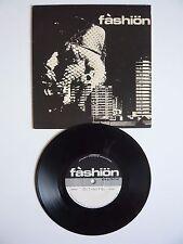 "Fashion Citinite / Wastelife UK 1st Press 1979 Faulty Products 7"" Vinyl Single"