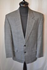 """Vintage Bhs grey check sports jacket size 40"""" dandy country classic"""