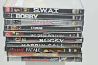 Action DVD Movies Lot Of 10 DVD's Pre-Owned Good