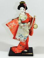 Vintage Traditional Japanese Doll in Geisha Kimono