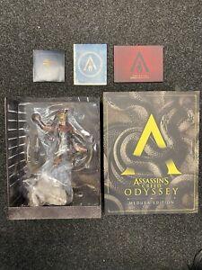 Assassin's Creed Odyssey Medusa Edition Alexios Statue, Artbook & Soundtrack