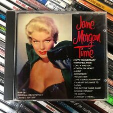 JANE MORGAN Time [CD vg cond] FREE shipping!!