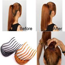 Fashion Hair Styling Clip Comb Stick Bun Maker Braid Tool Hair Accessories