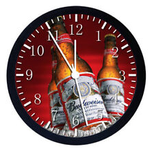 Cool Beer Black Frame Wall Clock Nice For Gifts or Decor W38
